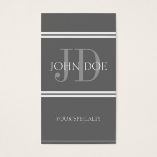Physician Vertical DG/DG Business Card