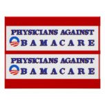 Physicians Against Obamacare Poster
