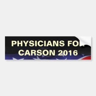 Physicians For CARSON 2016 Bumper Sticker