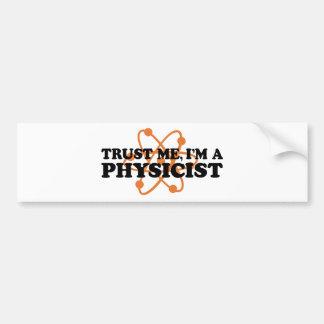 Physicist Bumper Sticker