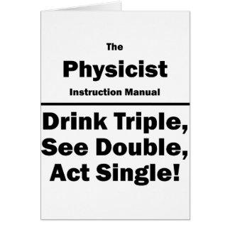 physicist card