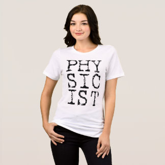 Physicist Ladies Relaxed Shirt