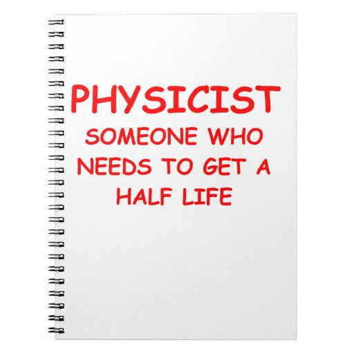 physicist note book