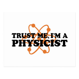 Physicist Postcard