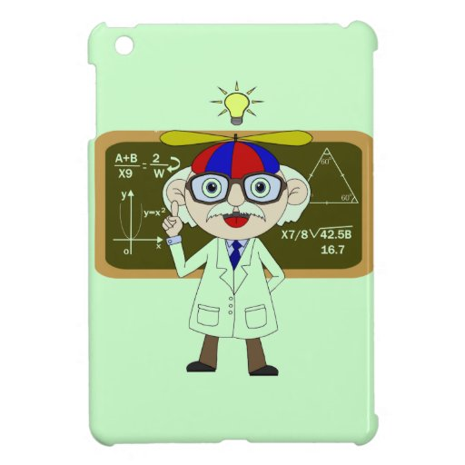 Physicist who discover of the Human's iPad Mini Covers