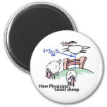 Physicists Counting Sheep Fridge Magnets