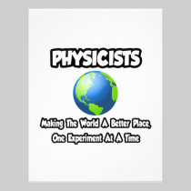 Physicists...Making the World a Better Place Letterhead Template