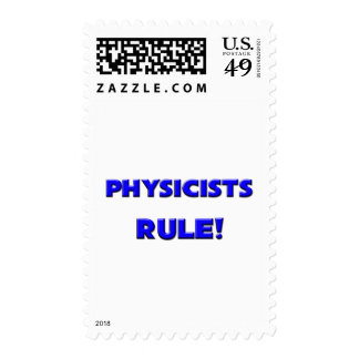 Physicists Rule! Postage Stamp