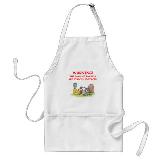 physics adult apron