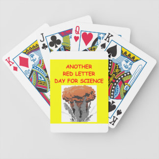 physics bicycle playing cards