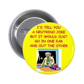 physics 2 inch round button