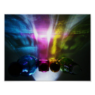 Physics Color and Light Poster