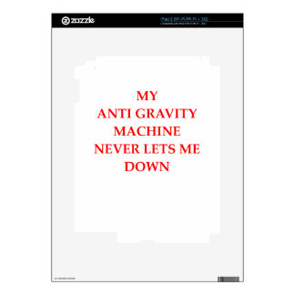 PHYSICS DECAL FOR THE iPad 2