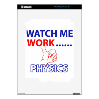 PHYSICS design Decal For iPad 2