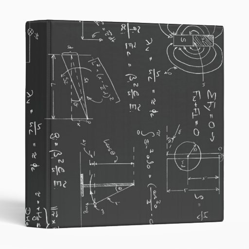 Physics diagrams and formulas vinyl binders
