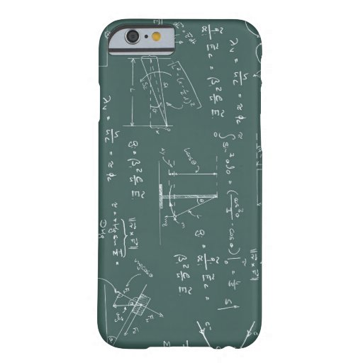 Physics diagrams and formulas iPhone 6 case
