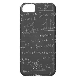 Physics diagrams and formulas iPhone 5C case