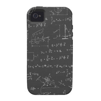 Physics diagrams and formulas case for the iPhone 4