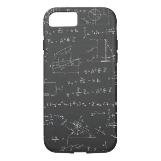 Physics diagrams and formulas iPhone 7 case