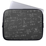 Physics diagrams and formulas laptop sleeves