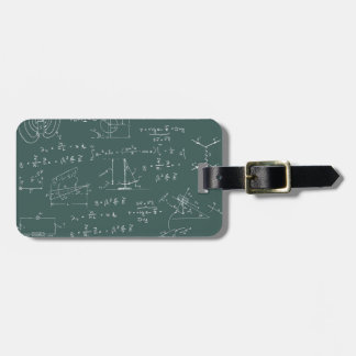 Physics diagrams and formulas tag for bags