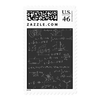 Physics diagrams and formulas postage stamps
