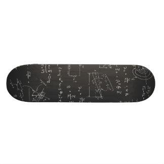 Physics diagrams and formulas skateboard