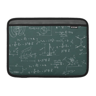 Physics diagrams and formulas sleeve for MacBook air