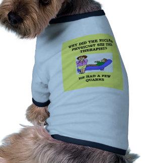 physics doggie tee shirt
