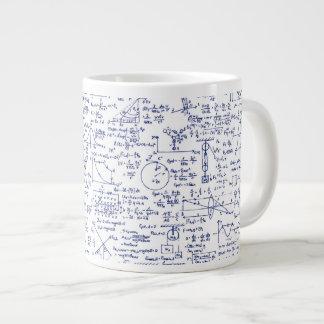 Physics Equations in Blue Pen // Large Coffee Mug