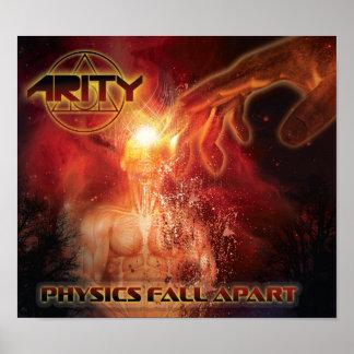 Physics Fall Apart MINI Poster