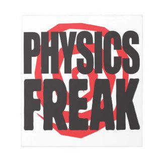 Physics Freak Memo Notepad