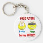 Physics Future Key Chain