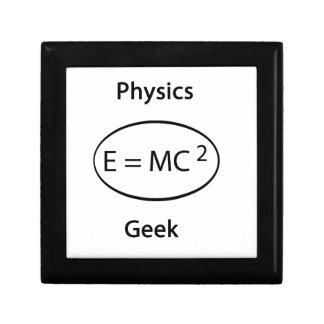 Physics geek jewelry box
