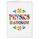 Physics is Awesome Cards