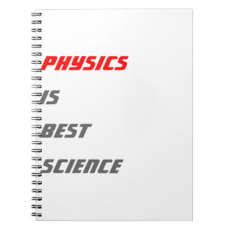 Physics is best science notebook