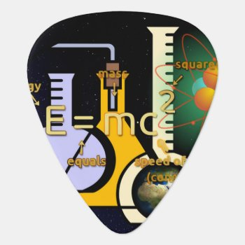 Physics Is Cool Guitar Pick by StuffOrSomething at Zazzle