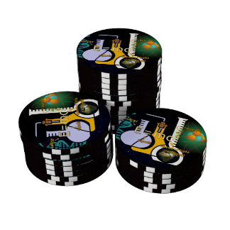 Physics is Cool Set Of Poker Chips