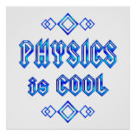 Physics Is Cool Posters