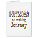 PHYSICS is Exciting Card