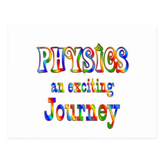 PHYSICS is Exciting Postcard