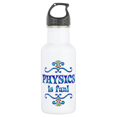 PHYSICS is Fun 18oz Water Bottle