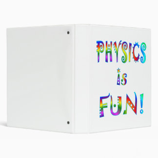 Physics is Fun 3 Ring Binder