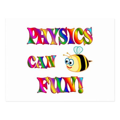 Physics is Fun Postcard
