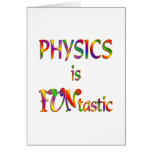 Physics is FUNtastic Greeting Cards
