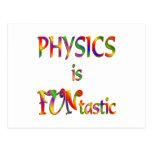 Physics is FUNtastic Postcards