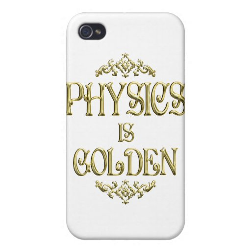 PHYSICS is Golden iPhone 4/4S Covers