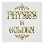 PHYSICS is Golden Posters