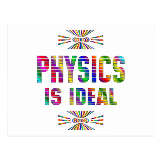 Physics is Ideal Postcard