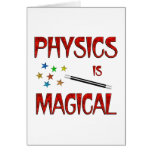 Physics is Magical Cards